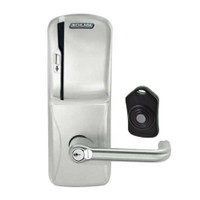 CO220-MS-75-MS-TLR-RD-619 Schlage Standalone Classroom Lockdown Solution Mortise Swipe locks in Satin Nickel