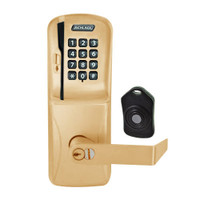 CO220-MS-75-MSK-RHO-RD-612 Schlage Standalone Classroom Lockdown Solution Mortise Swipe Keypad Lock with in Satin Bronze