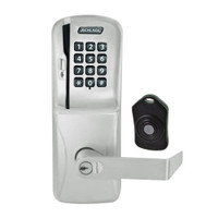 CO220-MS-75-MSK-RHO-RD-619 Schlage Standalone Classroom Lockdown Solution Mortise Swipe Keypad Lock with in Satin Nickel