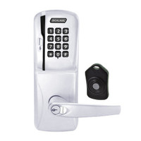 CO220-MS-75-MSK-ATH-RD-625 Schlage Standalone Classroom Lockdown Solution Mortise Swipe Keypad Lock with in Bright Chrome