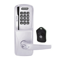 CO220-MS-75-MSK-ATH-RD-626 Schlage Standalone Classroom Lockdown Solution Mortise Swipe Keypad Lock with in Satin Chrome