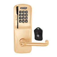 CO220-MS-75-MSK-TLR-RD-612 Schlage Standalone Classroom Lockdown Solution Mortise Swipe Keypad Lock with in Satin Bronze