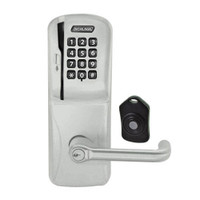 CO220-MS-75-MSK-TLR-RD-619 Schlage Standalone Classroom Lockdown Solution Mortise Swipe Keypad Lock with in Satin Nickel