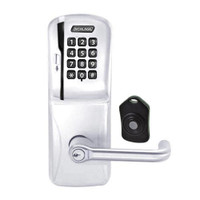 CO220-MS-75-MSK-TLR-RD-625 Schlage Standalone Classroom Lockdown Solution Mortise Swipe Keypad Lock with in Bright Chrome