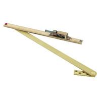 101H-US4 Glynn Johnson 100 Series Heavy Duty Concealed Overhead in Satin Brass