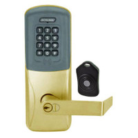 CO220-MS-75-PRK-RHO-RD-606 Schlage Standalone Classroom Lockdown Solution Mortise Proximity Keypad with in Satin Brass