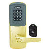 CO220-MS-75-PRK-ATH-RD-605 Schlage Standalone Classroom Lockdown Solution Mortise Proximity Keypad with in Bright Brass