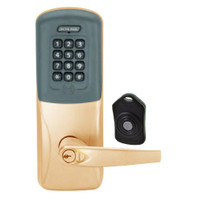 CO220-MS-75-PRK-ATH-RD-612 Schlage Standalone Classroom Lockdown Solution Mortise Proximity Keypad with in Satin Bronze