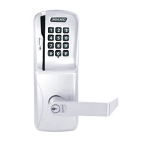 CO250-CY-40-MSK-RHO-RD-625 Schlage Privacy Rights on Magnetic Stripe with Keypad Cylindrical Locks in Bright Chrome