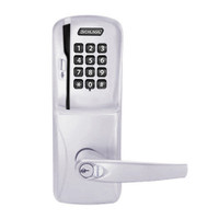 CO250-CY-40-MSK-ATH-RD-626 Schlage Privacy Rights on Magnetic Stripe with Keypad Cylindrical Locks in Satin Chrome