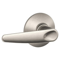 F40-JAZ-619 Schlage F Series - Jazz Lever style with Privacy Lock Function in Satin Nickel