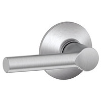 F170-BRW-626 Schlage F Series - Broadway Lever style with Single Dummy Trim Function in Satin Chrome
