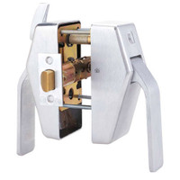 PL8-5-625-L Glynn Johnson PL8 Series Privacy Function Pull Side Thumbturn with Lead Lining in Polished Chrome Finish