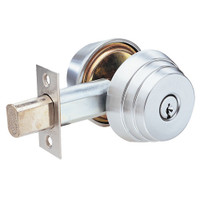 E61-26 Arrow Lock E Series Deadbolt in Bright Chromium Finish
