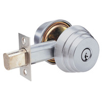 E62-26D Arrow Lock E Series Deadbolt in Satin Chromium Finish