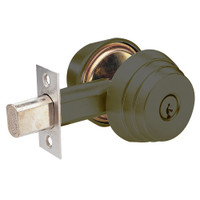 E62-10B Arrow Lock E Series Deadbolt in Dark Oxidized Satin Bronze Finish