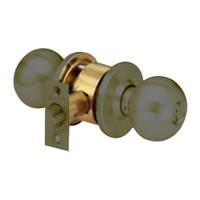 MK11-BD-10B Arrow Lock MK Series Cylindrical Locksets Single Cylinder for Entrance/Office with BD Knob in Oil Rubbed Bronze Finish