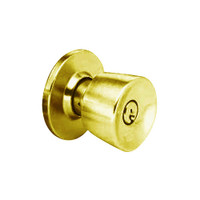 MK34-DD-05A Arrow Lock MK Series Exterior Knob with DD Design in Antique Brass Finish