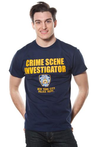 Adult NYPD Crime Scene Investigator Tee