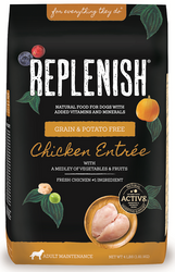 Replenish Activ8 Grain Free Chicken Entree 4-Pound