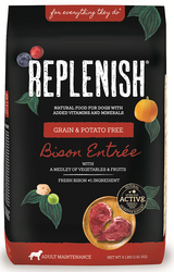 Replenish Activ8 Grain Free Bison Entree 4-Pound