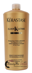 Kerastase Bain Elixir Ultime Sublime Cleansing Oil Shampoo 34 oz