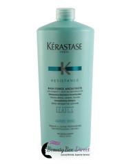 Kerastase Resistance Bain Force Architecte Reconstructing Shampoo 34 oz