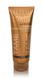 Brazilian Blowout Acai Protective Thermal Straightening Balm 8 OZ.