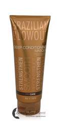Brazilian Blowout Acai Deep Conditioning Masque for Unisex 8 Ounce