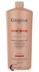Kerastase Discipline Fondant Fluidealiste Smooth-in-Motion Care Conditioner, 34 Ounce