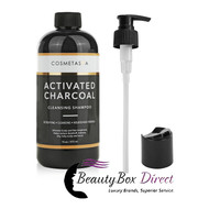 Cosmetasa Activated Charcoal  Cleansing Shampoo 16 oz