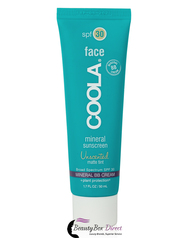 COOLA Mineral Face SPF 30 Unscented Matte Tint Moisturizer 1.7 oz