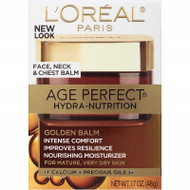 L'Oréal Paris Skincare Age Perfect Hydra-Nutrition Golden Balm Moisturizer for Face, Neck and Chest 1.7 oz