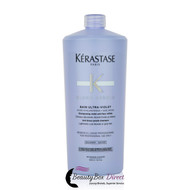 Kerastase Blond Absolu Bain Ultra-Violet Purple Shampoo 34 oz