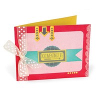 Sizzix Bigz XL Die - A2 Card w/ Window 659743