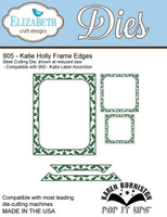 Karen Burniston Retired Pop It Up Elizabeth Craft - Katie Holly Frame Edges 905