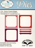 Karen Burniston Retired Pop It Ups by Elizabeth Crafts - Fancy Frame Edges 774