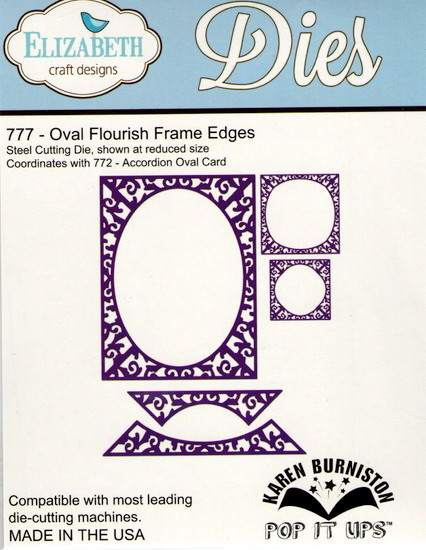 387ec3622fb Karen Burniston Retired Pop It Ups by Elizabeth Crafts - Oval ...