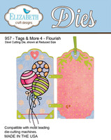 Tags & More 4 Flourish - 957Compatible with most die cutting machines