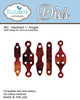 Elizabeth Craft Design Die  - Hardware 1 Hinges - 962