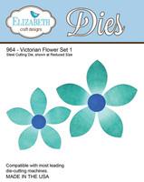 Elizabeth Craft Design Die  - Victorian Flower 1 - 964