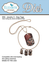 Elizabeth Craft Design Die  - Jewelry 3 Dog Tags 956