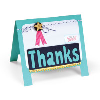 Sizzix Thinlits Die - Easel Card 660003