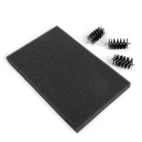 Sizzix Accessory - Replacement Die Brush Heads & Foam Pad for Wafer-Thin Dies - 660514