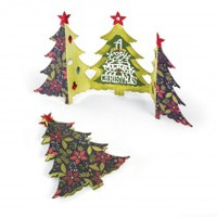 Sizzix Thinlits Die - Christmas Tree Card Fold a Long 660665