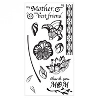 Sizzix Clear Stamps Mom - 660637