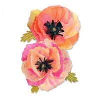 Sizzix Thinlits Brenda Walton - Large Poppy 661090