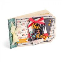 Sizzix Thinlits Die - Essential Mini Album 661094