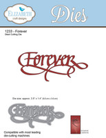 Elizabeth Craft Designs - Forever 1233