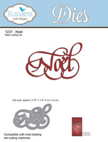 Elizabeth Craft Designs - Noel 1237
